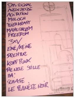 2012-01-12 Setlist